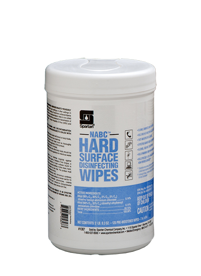 NABC® Hard Surface Disinfecting Wipes (108706)