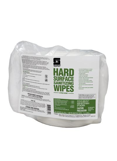 Hard Surface Sanitizing Wipes (109000)