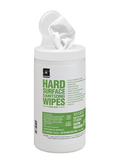 Hard Surface Sanitizing Wipes (109006)