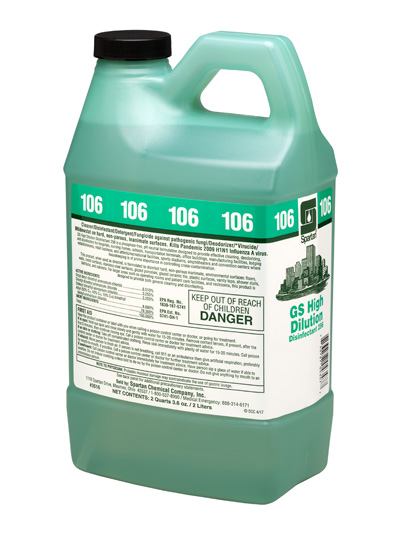 GS High Dilution Disinfectant® 256 106 (351602)