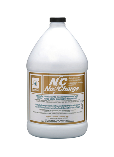 N/C No Charge® Static Dissipative Floor Cleaner (401404)