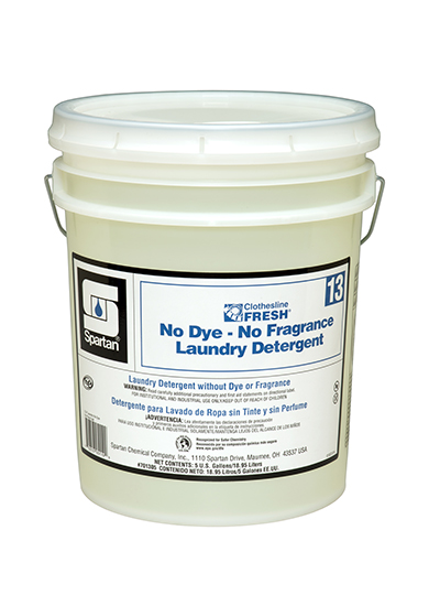 Clothesline Fresh® No Dye-No Fragrance Laundry Detergent 13 (701305)
