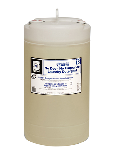 Clothesline Fresh® No Dye-No Fragrance Laundry Detergent 13 (701315)