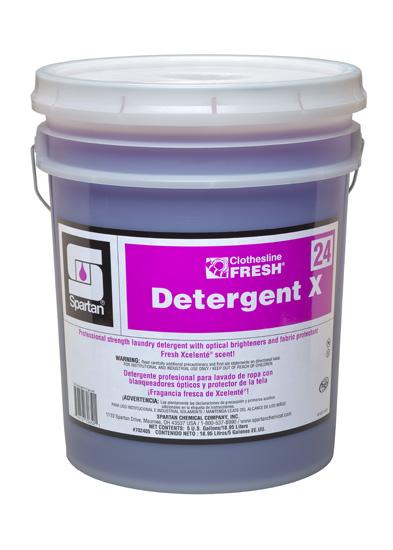 Clothesline Fresh® Detergent X 24 (702405)