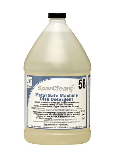 SparClean® Metal Safe Machine Dish Detergent 58 (765804)