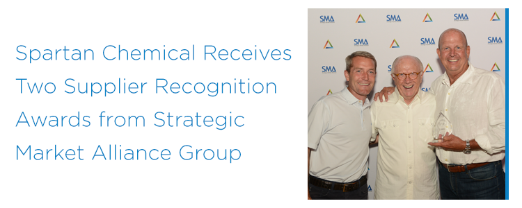 Spartan Chemical Receives Two Supplier Recognition Awards from Strategic Market Alliance Group