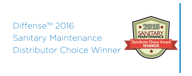 Diffense™ Selected as a 2016 Sanitary Maintenance