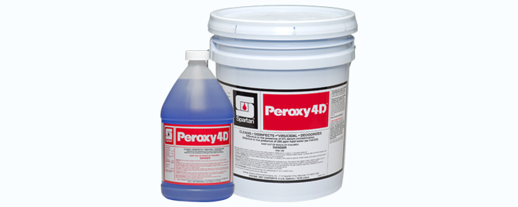 4 Dimensions of Clean with Peroxy 4D™