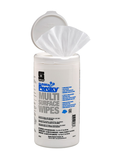 Clean by Peroxy® Multi Surface Wipes (004206)