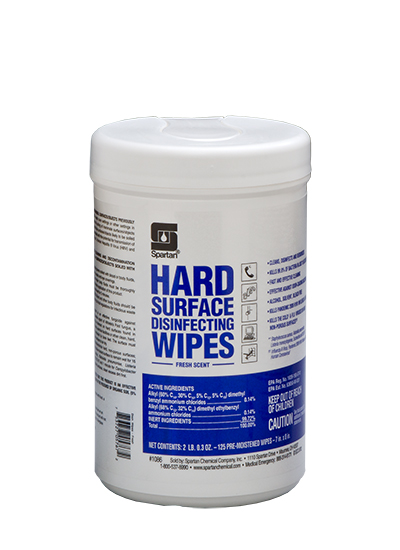 Hard Surface Disinfecting Wipes Fresh Scent (108606)
