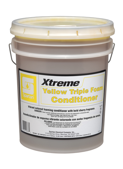 Xtreme™ Yellow Triple Foam Conditioner (267005)
