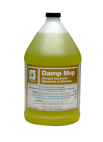 floor cleaner damp mop spartan chemical