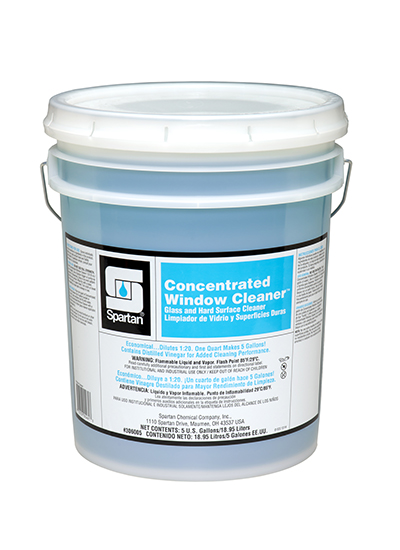 Concentrated Window Cleaner Spartan Chemical