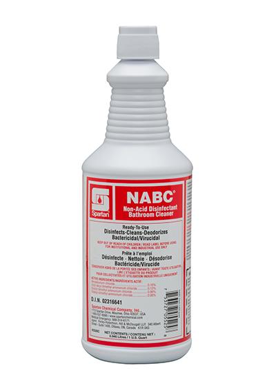 NABC® Non-Acid Disinfectant Bathroom Cleaner (Canada) (332003C)