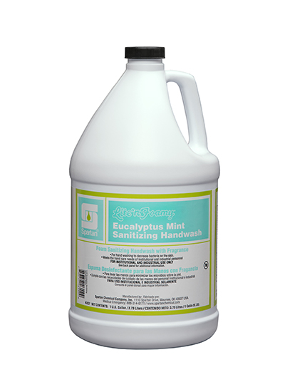 Lite'n Foamy® Eucalyptus Mint Sanitizing Hand Wash (333704)