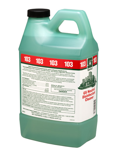GS Neutral Disinfectant Cleaner® 103 (351302)