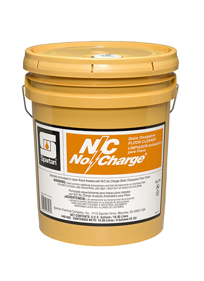 N C No Charge 174 Static Dissipative Floor Cleaner Spartan