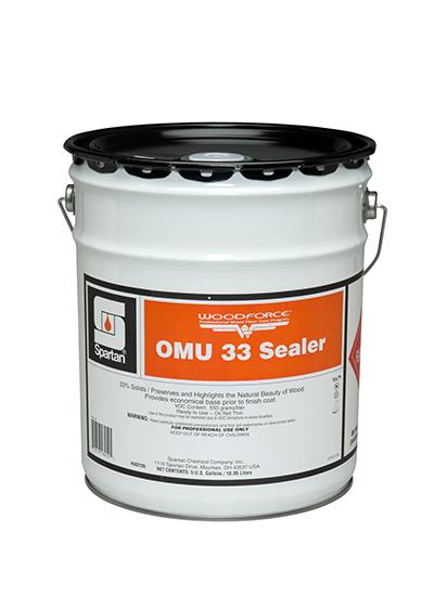 Woodforce 174 Omu 33 Sealer 174 Spartan Chemical
