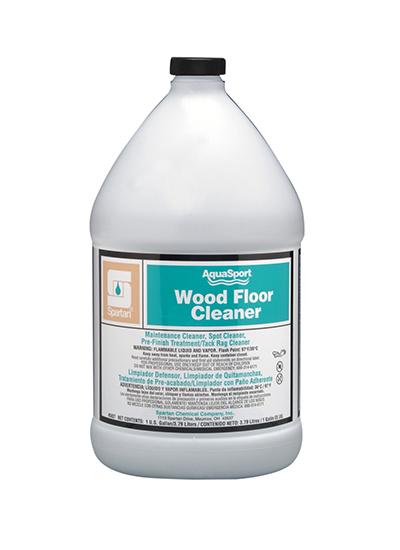 Aquasport wood floor cleaner spartan chemical for Hardwood floor cleaner