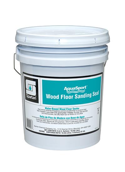 Aquasport 174 Wood Floor Sanding Seal Spartan Chemical