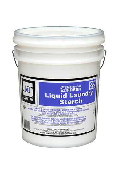 Clothesline Fresh® Liquid Laundry Starch 22 (702205)