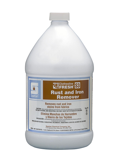 Clothesline Fresh® Rust and Iron Remover S3 | Spartan Chemical