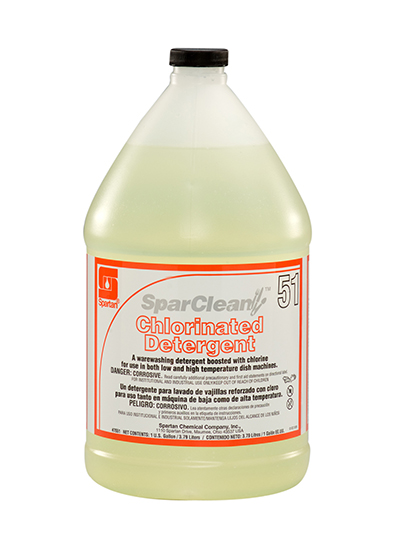 SparClean® Chlorinated Detergent  51 (765104)