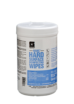 NABC® Hard Surface Disinfecting Wipes (1087)