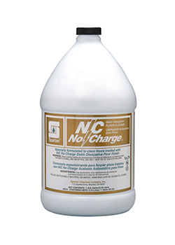 N/C No Charge®  Static Dissipative Floor Cleaner (4014)