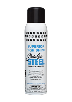 Superior High Shine Stainless Steel Cleaner & Polish (6290)